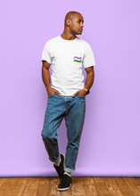Load image into Gallery viewer, Genderqueer Flag - Unisex Organic T-Shirt