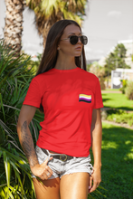 Load image into Gallery viewer, Non-binary Flag Organic T-Shirt