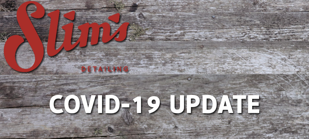 Covid-19 Service Update | Including Shop Opening Info