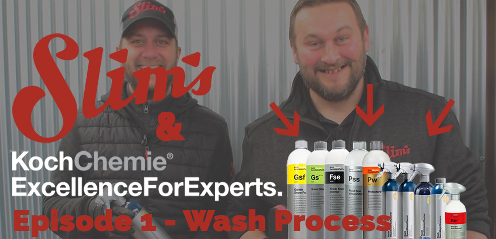 Koch Chemie Wash Process How-To