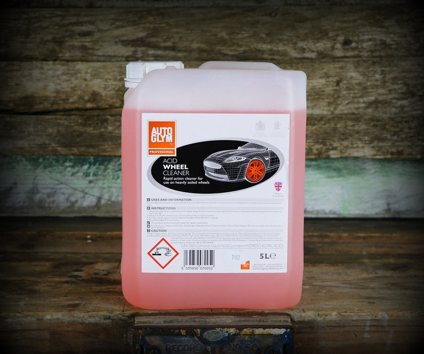 Autoglym Acid Wheel Cleaner (5 Litre)