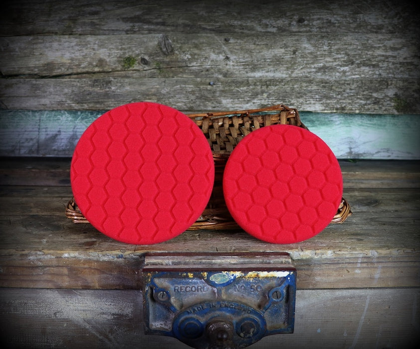 Chemical Guys Red Hex Logic Ultra Soft Finishing Pad