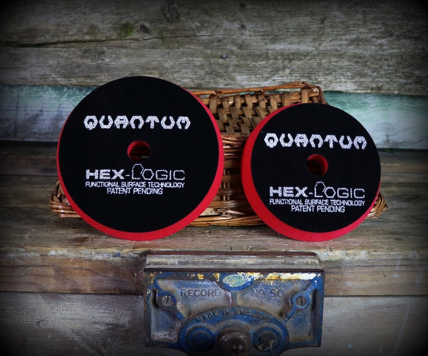 Chemical Guys Red Hex Logic Quantum Ultra Light Finishing Pad