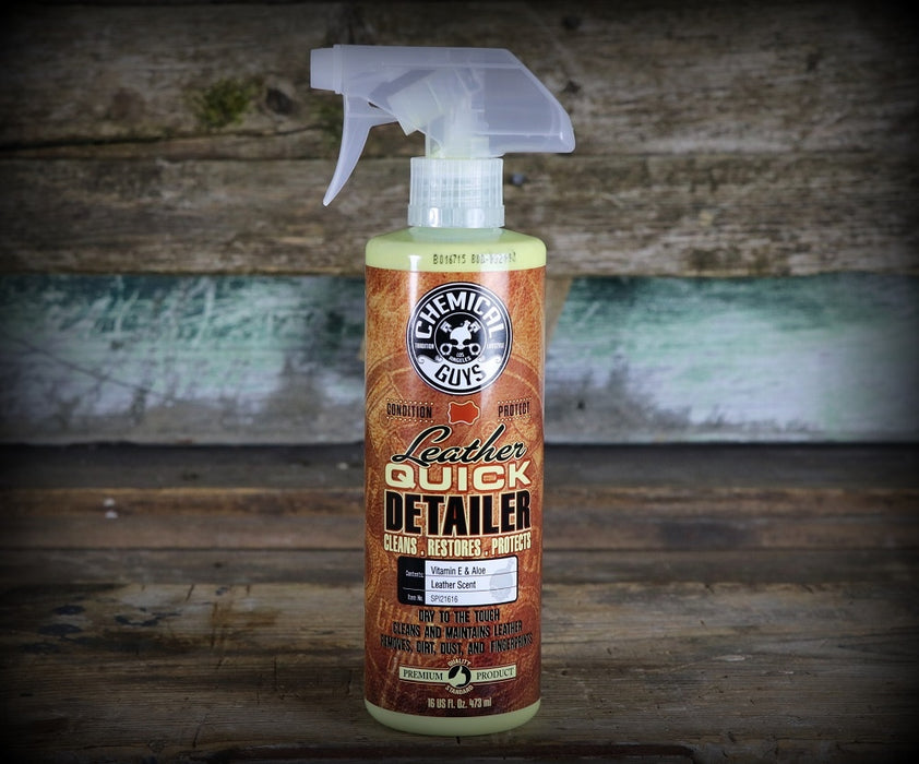 Chemical Guys Leather Quick Detailer (16oz)