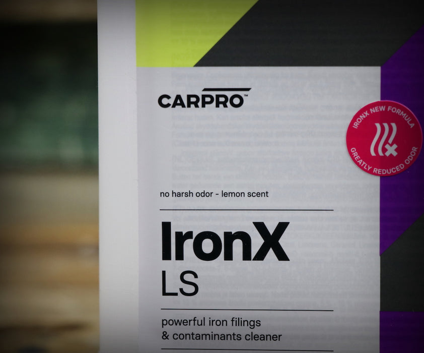 CarPro Iron X Iron Filing and Contaminant Cleaner Lemon Scent