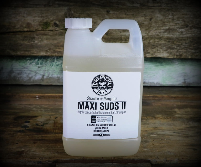 Chemical Guys Maxi Suds II Strawberry Margarita Super Suds Car Wash Shampoo