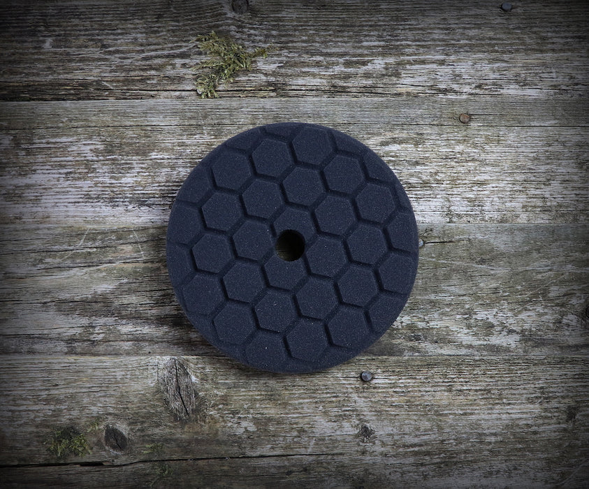 "Flexipads Black Pro-Detail Finishing Pad (5.5"")"