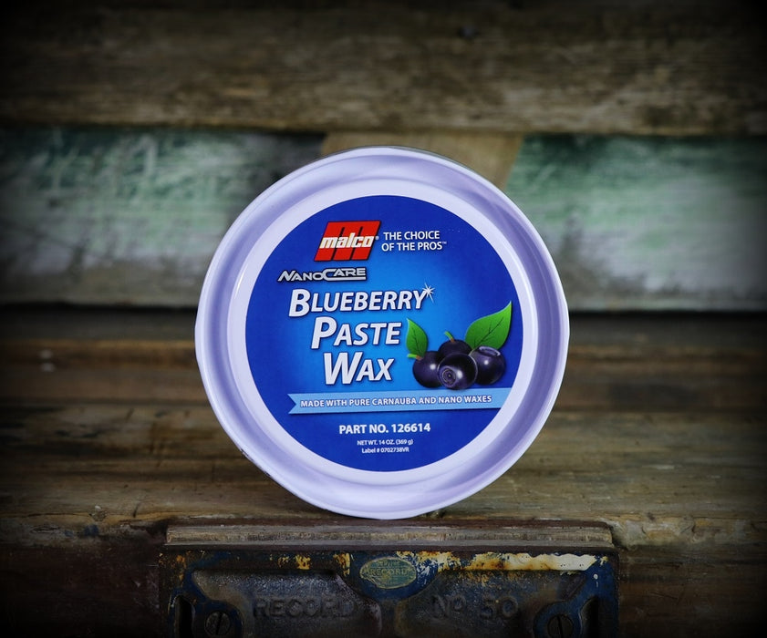 Malco Nano Care Blueberry Paste Wax