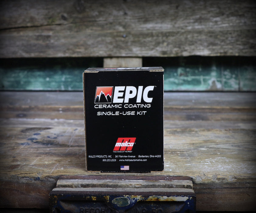 Malco Epic Ceramic Coating Single-Use Kit