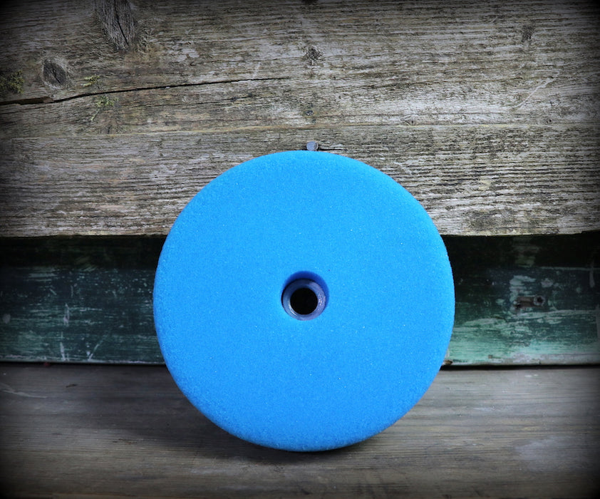 "Presta Blue Foam Screw On Polishing Pad (6"")"