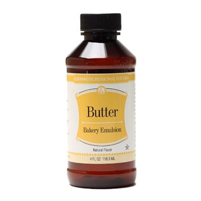 Butter (Natural), Bakery Emulsion 4 oz.