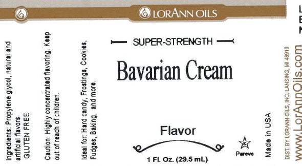 Bavarian Cream (Vanilla) by Lorann