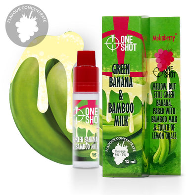 ONE Shot Green Banana & Bamboo Milk by Molinberry