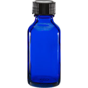 30ml Cobalt Blue Glass Bottle With Cap
