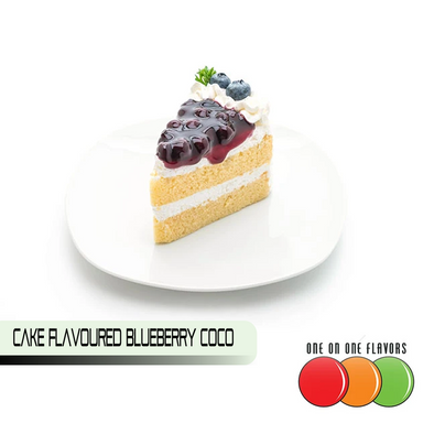 Cake Flavoured Blueberry Coco by One On One