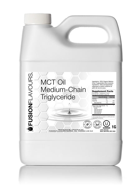 Organic MCT Oil - Medium-Chain Triglyceride