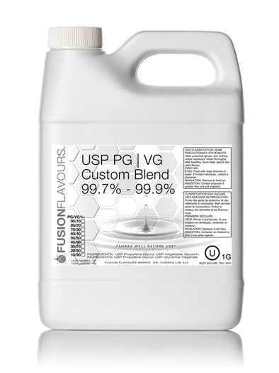 USP Propylene Glycol / Vegetable Glycerin Blend