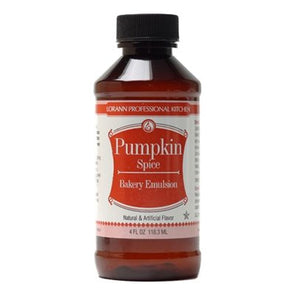 Pumpkin Spice, Bakery Emulsion 4 oz.