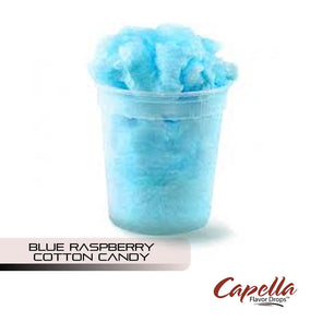 Blue Raspberry Cotton Candy by Capella
