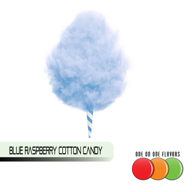 Blue Raspberry Cotton Candy by One On One