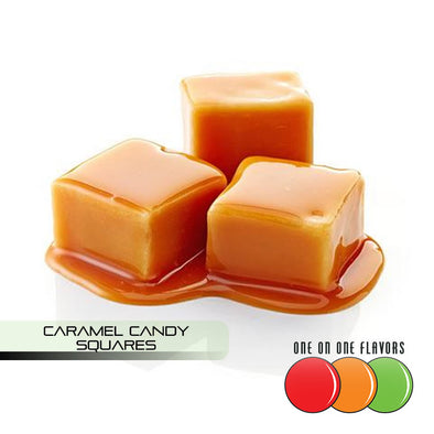 Caramel Candy Squares Flavour by One On One