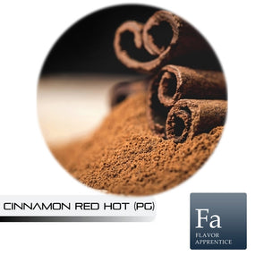Cinnamon Red Hot (PG) Flavour By Flavor Apprentice