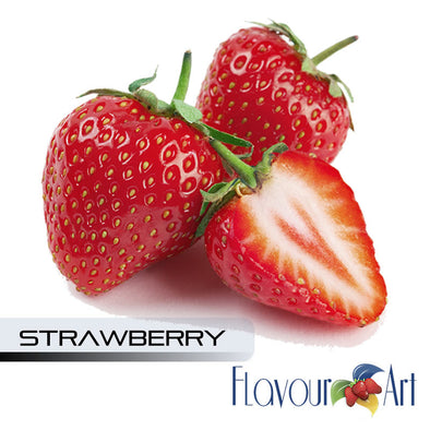 Strawberry (Red Touch) by Flavour Art