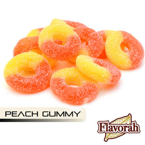 Peach Gummy by Flavorah