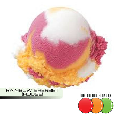 Rainbow Sherbet (House) Flavour by One On One