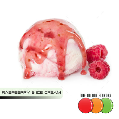 Raspberry and Ice Cream by One On One
