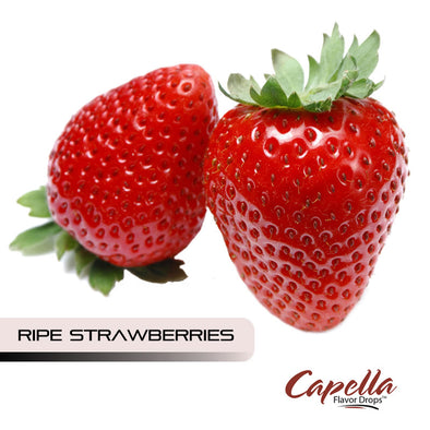 Ripe Strawberries by Capella