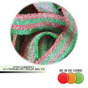 Strawberry Watermelon (Sour Belts) Flavour by One On One