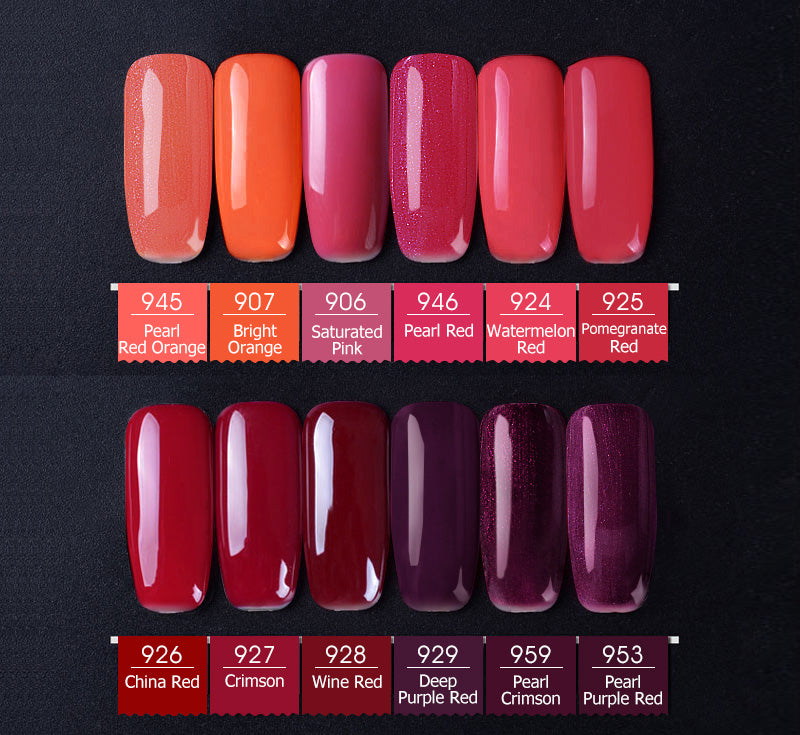 CANNI Premium quality nail gel varnish shade card