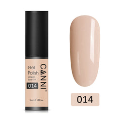 14 - CANNI UV Nail Gel Varnish Dark Cream (5ml)