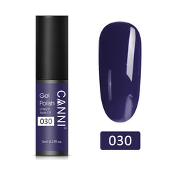 30 - CANNI UV Nail Gel Varnish Purple-Blue (5ml)