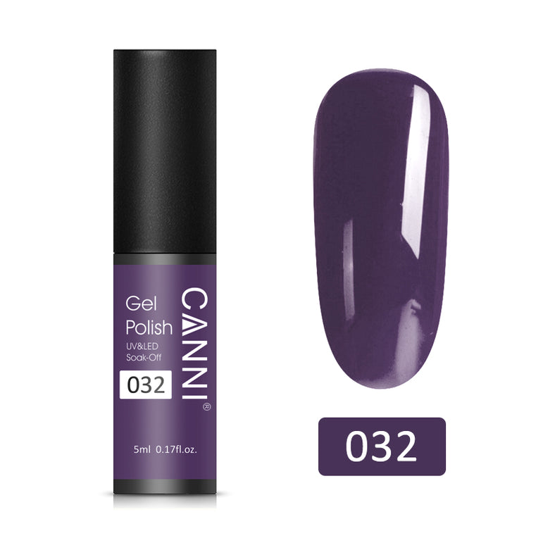 32 - CANNI UV Nail Gel Varnish Special Purple (5ml)