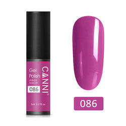 86 - CANNI UV Nail Gel Varnish Purple Red (5ml)