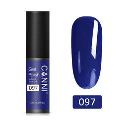 97 - CANNI UV Nail Gel Varnish Dark Blue (5ml)