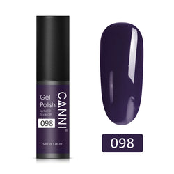 98 - CANNI UV Nail Gel Varnish Dirty Purple (5ml)