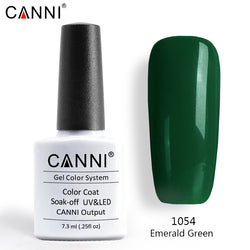 CANNI Premium Soak Off UV / LED Nail Gel Polish Shade 1001 - 1060
