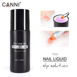 CANNI Poly Gel Nail Liquid Slip Solution 75ml