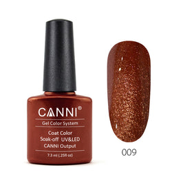 09 - CANNI UV Nail Gel Varnish Colour Stone Pearlescent