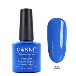 25 - CANNI UV Nail Gel Varnish Colour Dodger Blue