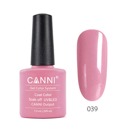 39 - CANNI UV Nail Gel Varnish Colour Rose Bloom