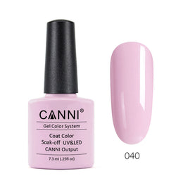 40 - CANNI UV Nail Gel Varnish Colour Soft Pink