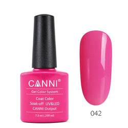 42 - CANNI UV Nail Gel Varnish Colour Dark Magenta