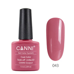 43 - CANNI UV Nail Gel Varnish Colour Rich Pale Pink