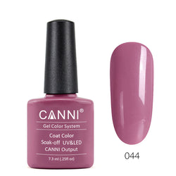 44 – CANNI UV Nail Gel Varnish Colour Pale Fuchsia