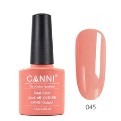 45 - CANNI UV Nail Gel Varnish Colour Light Salmon