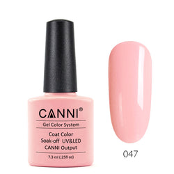 47 - CANNI UV Nail Gel Varnish Colour Jovial Peach